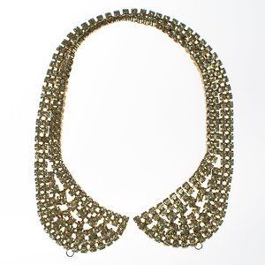LEMON CITRINE RHINESTONE COLLAR